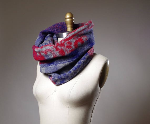 Infinity Long Scarf - Plaid Cozy Scarf - Women's Long Scarf - Winter Scarves