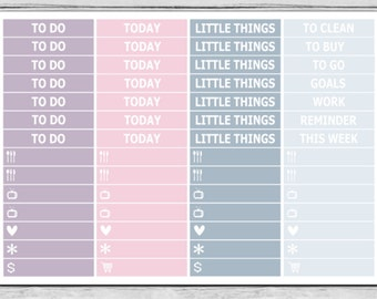 Fly MDN Headers Planner Stickers