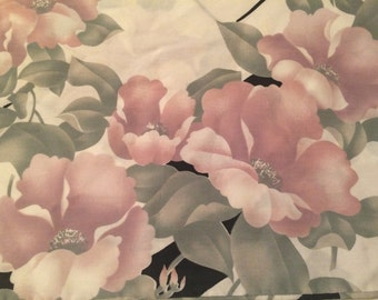 Vintage Springs Standard Mod Floral Pillow Case with a little Oriental Flare