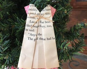 Little House on the Prairie Dress Ornament