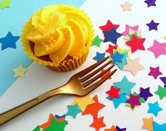 Star confetti - Rainbow Confetti - Wedding Confetti - Party Confetti - Table Confetti - Eco-Friendly - Unicorn Party Decor - Table Scatter