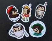 Set of Large Hedgehog Stickers