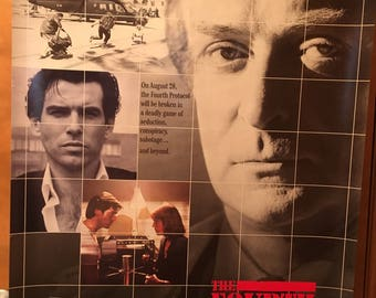 Movie poster, The Fourth Protocol with Michael Caine.