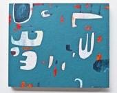 "Original Art ""Embers"" -  Original Painting - Abstract Painting - Acrylic Painting - Abstract Art - Free Local Shipping"