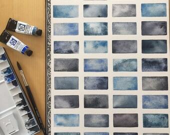 Original Painting - Study of Blue