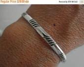 10%OFF Sterling silver Cuff bracelet