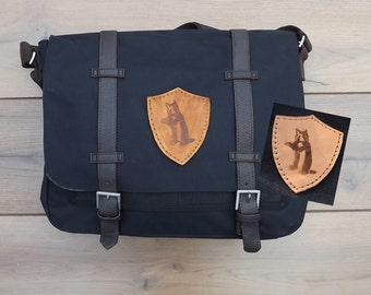 Hufflepuff Messenger bag Harry Potter satchel canvas