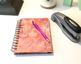 Handmade Spiral Bound Fill Me In Notebook