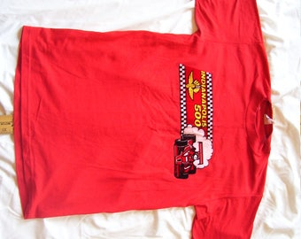 Vintage Auto Racing  T-Shirt,  Indy 500,  1980's