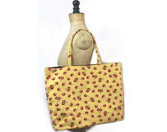 1990 Yellow cherries Bag Large