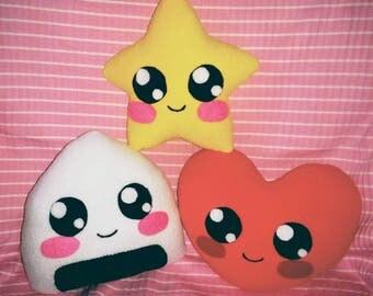 Kawaii Pillow (Choose one)