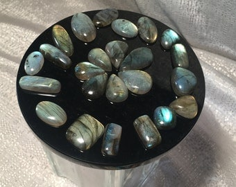 Labradorite Cabochon - Stone of Magic and Protection