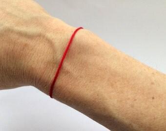 red string bracelet red string of fate kabbalah red thread bracelet evil eye red string good luck bracelet red string FATE
