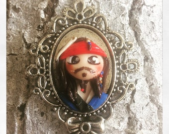 Medaillon jack le pirate