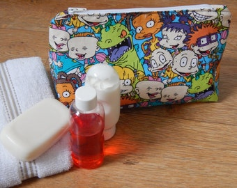 Rugrats waterproof wash bag, cosmetic bag, DOPP kit