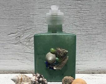 Seashell Soap and Lotion Dispenser,Seashell Soap Pump, Beach Bathroom, Coastal Bathroom, Bridal Shower Gift, Unique Gift, Hostess Gift