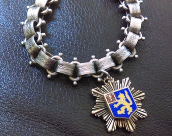 Vintage Charm Bracelet - Book Chain Bracelet