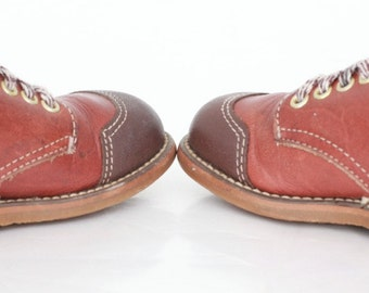 Vintage Toddler Shoes / Vintage Baby Shoes / 1960 Shoes / Toddler US Size 7