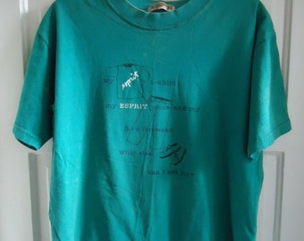 Vintage 80s ESPRIT T Shirt sz M/L
