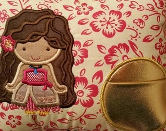 Tooth Fairy Pillow - Moana Polynesian Princess