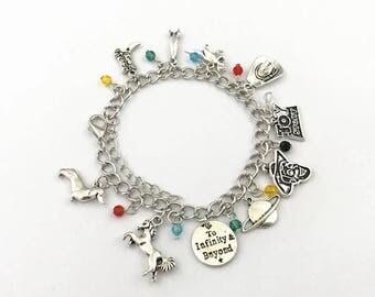 Toy Story inspired charm bracelet