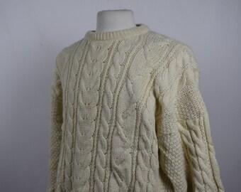 Aran Knitwear Jumper (DOWN FROM 29.99)