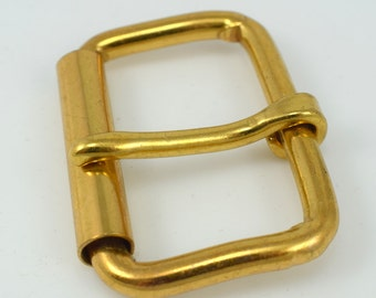 Gold Belt Buckle, 2.5 x 1.75 inches