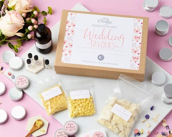Create Your Own Personalised Wedding Favour Lip Balm Kit