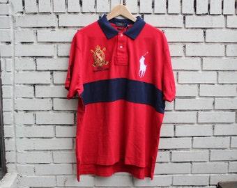 RALPH LAUREN Polo Summer Classic Shirt RLPC #3 Collared Short Sleeve Custom Fit