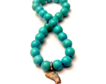 African Jewelry. Nefertiti Bracelet. African Bracelet. Turquoise Bracelet. Beaded Bracelet. Nefertiti Jewelry. Egyptian Jewelry.