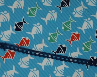 Navy Blue Cotton Crochet Trim, Sewing Trim, Lace Trim