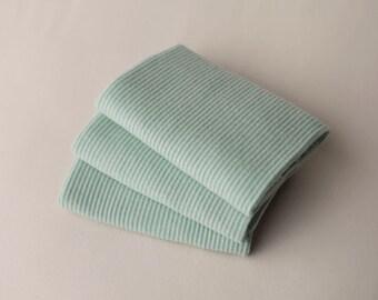 Seaglass Newborn Wrap, Newborn Photo Prop, Baby Knit Wrap, Rib Knit Baby Wrap, Textured Newborn Wrap, Sage Newborn Wrap