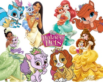 BEST collection of 120 Disney's PRINCESSES Palace Pets images - 120 high quality PRINCESSES' Palace Pets clipart