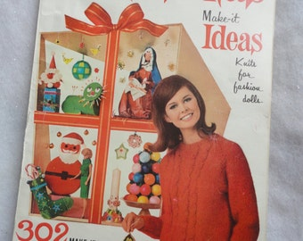 Vintage McCall's Christmas Make-it Ideas, McCall's Christmas, McCall's, Christmas Craft Ideas, 302 Make-Its for Christmas, Vintage Ideas