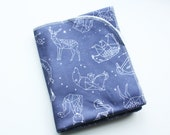 SALE See The Stars Swaddle Blanket // Constellation Blanket // Baby Shower Gift // Baby Gift // Newborn Swaddle Blanket// Baby Blanket