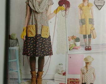 Simplicity Sewing Pattern 1080 Misses Dress or Tunic Vintage Dottie Angel