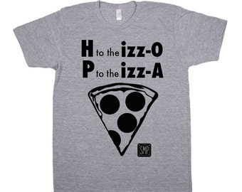 Toddler Pizza Shirt. P to the Izz-A Toddler Tee. Funny Boy shirts.