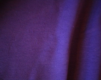 "Purple Cotton Spandex Jersey Fabric 60"" Wide Per Yard"