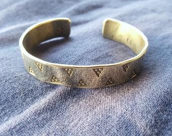 Brass Viking Arm Ring