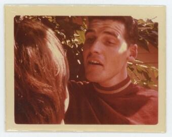 Vintage Kodachrome Snapshot Photo: Couple, c1960s (71538)