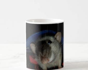 Tilda the Tilted Rat Mug