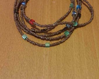 Necklace/bracelet 60 cm. Long