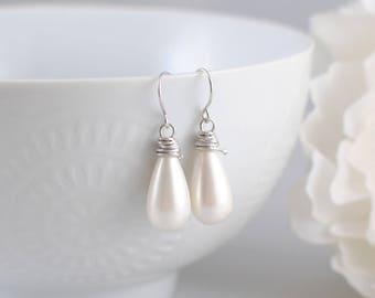 The Raina Earrings - Silver
