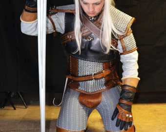 Theatrical quality Witcher 3 Geralt of Rivia Costume custom order