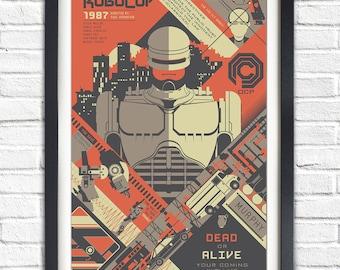 Robocop - 1987 - 19x13 Poster