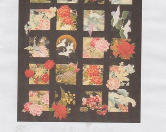 20 Asian Blocks Plus, Quilt Pattern, Great for Large Scale Fabrics, DIY Quilting Sewing