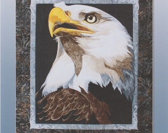 Liberty by Toni Whitney Design, Bald Eagle Quilt Pattern, DIY Quilting