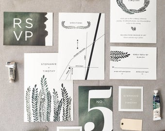 CHATHAM Wedding Invitation Suite SAMPLE