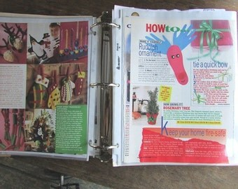 HUGE Country Christmas Junk Journal Craft Pattern Extravaganza Vintage Christmas Crafts