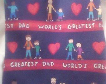 Save the Children world's greatest dad tie